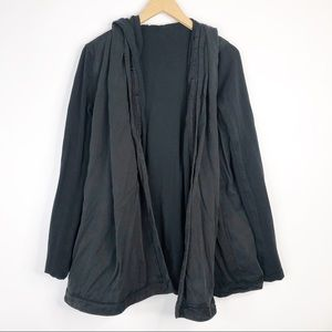 Lululemon Blissed Out Wrap Dark Charcoal